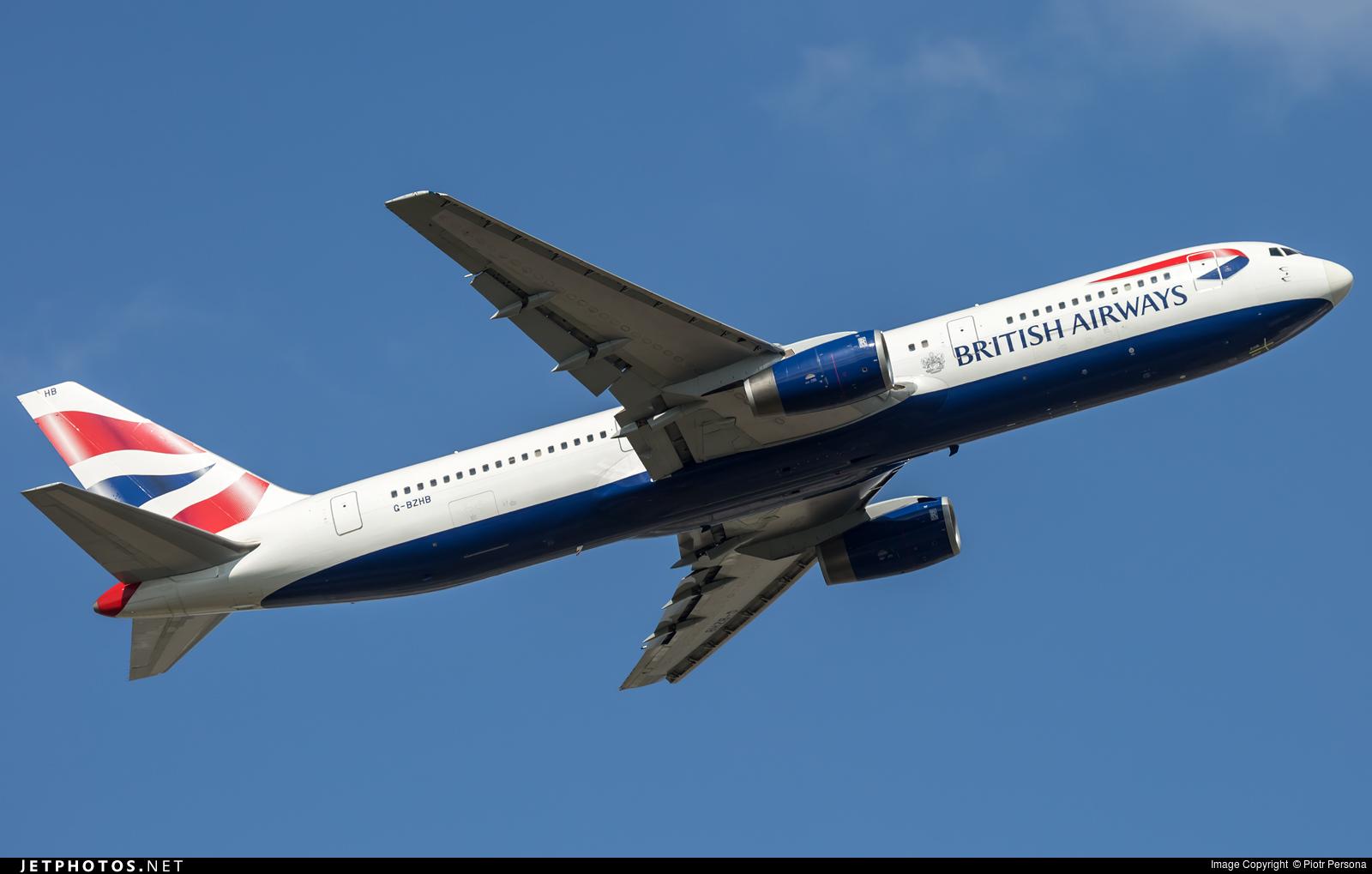 G-BZHB - Boeing 767-336(ER) - British Airways