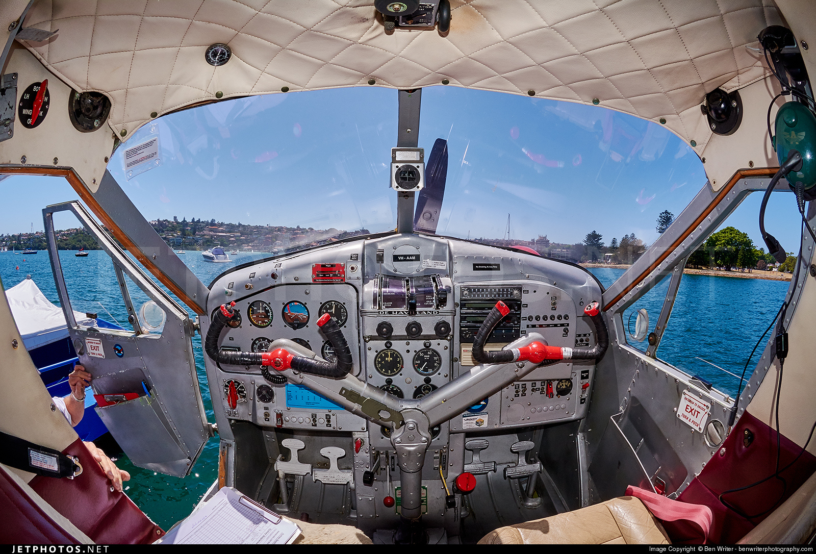 VH-AAM - De Havilland Canada DHC-2 Mk.I Beaver - Sydney Seaplanes