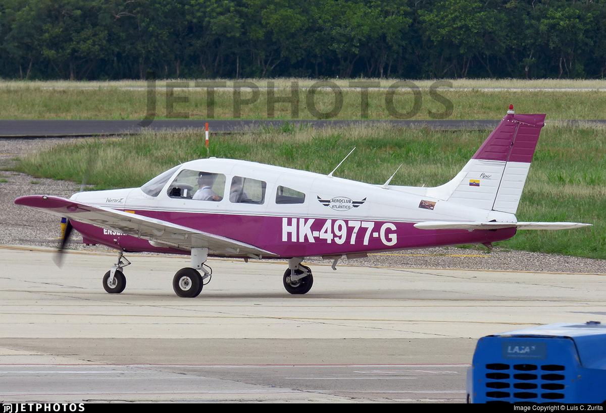 HK-4977-G - Piper PA-28-151 Cherokee Warrior - Aeroclub del Atl�ntico