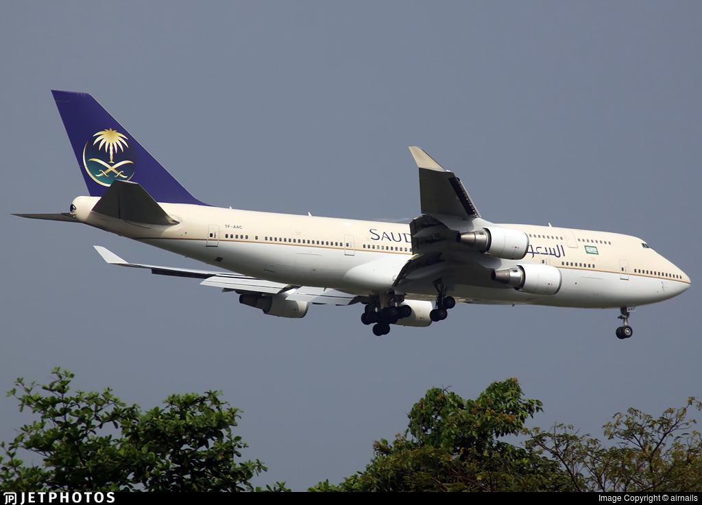 TF-AAC - Boeing 747-481 - Saudi Arabian Airlines (Air Atlanta Icelandic)