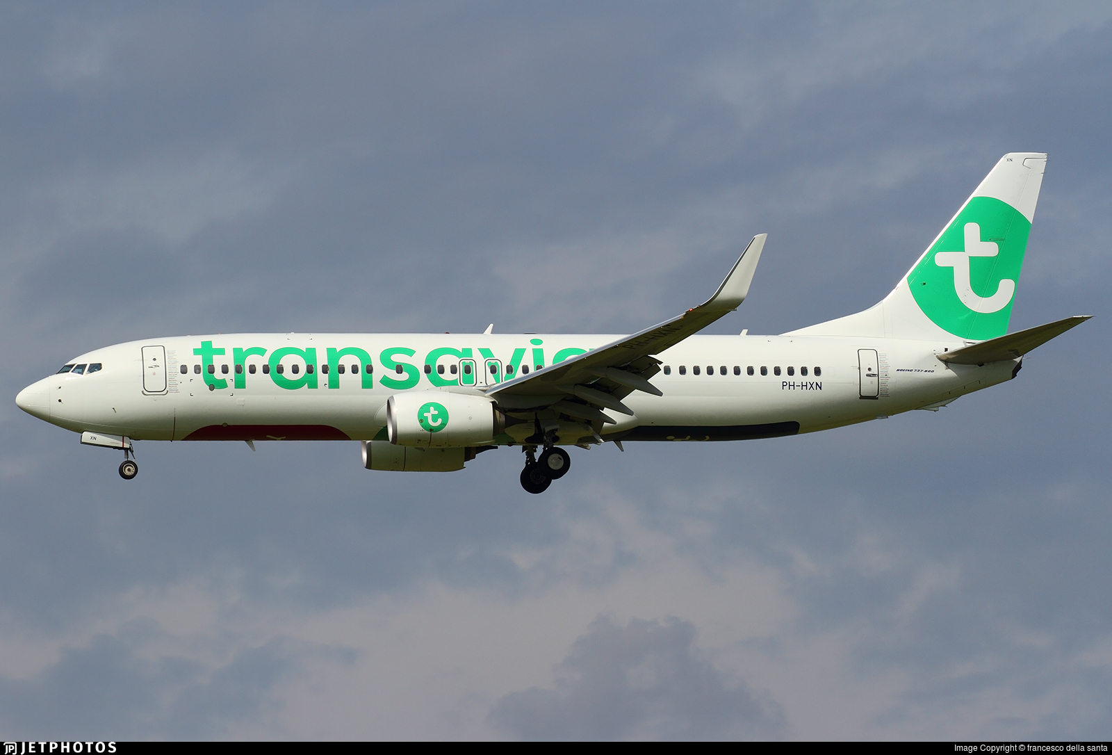 PH-HXN - Boeing 737-8K2 - Transavia Airlines