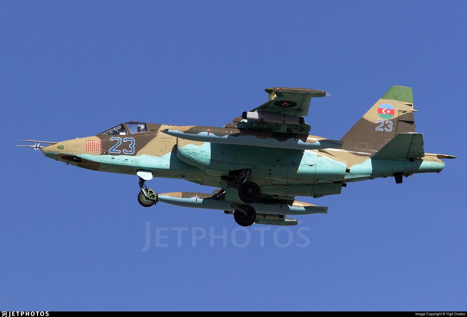 23 - Sukhoi Su-25 Frogfoot - Azerbaijan - Air Force
