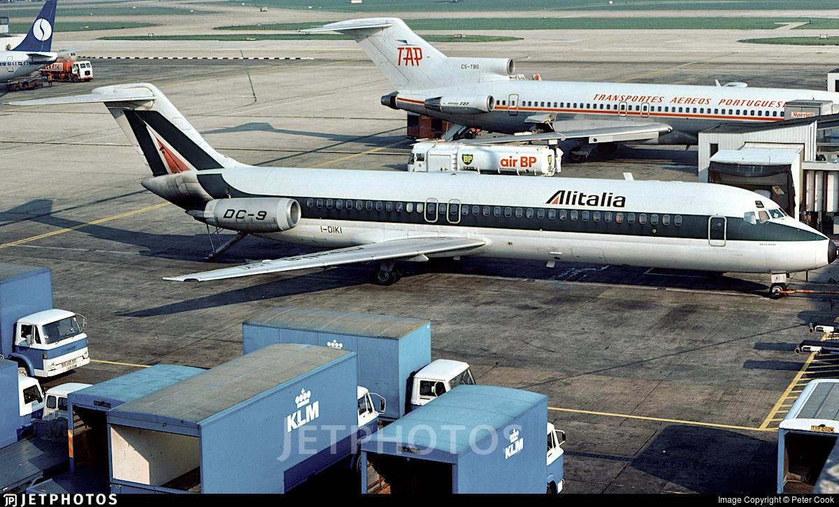 I-DIKI - McDonnell Douglas DC-9-32 - Alitalia