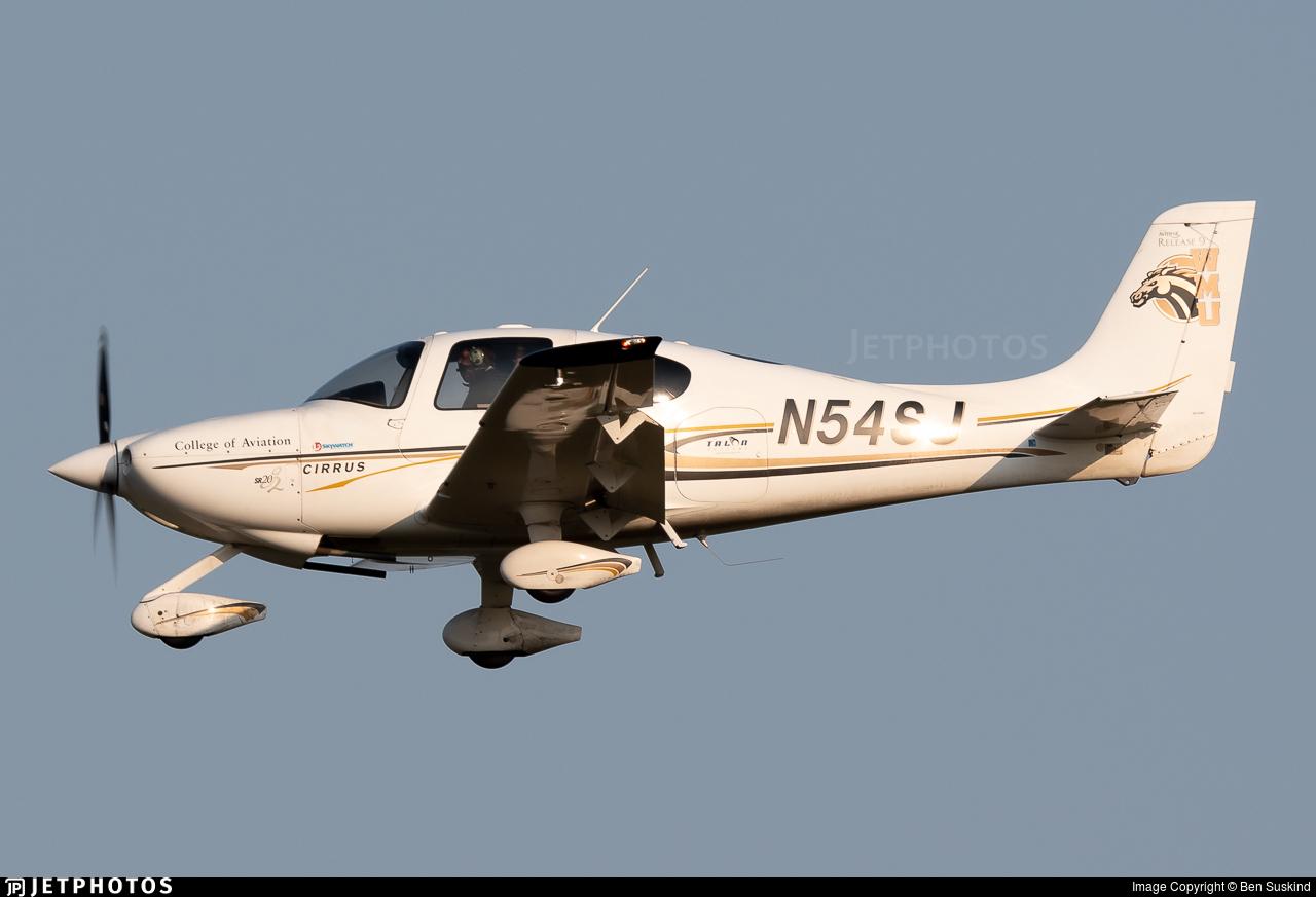 N54SJ - Cirrus SR20-G2 - Western Michigan University College of Aviation