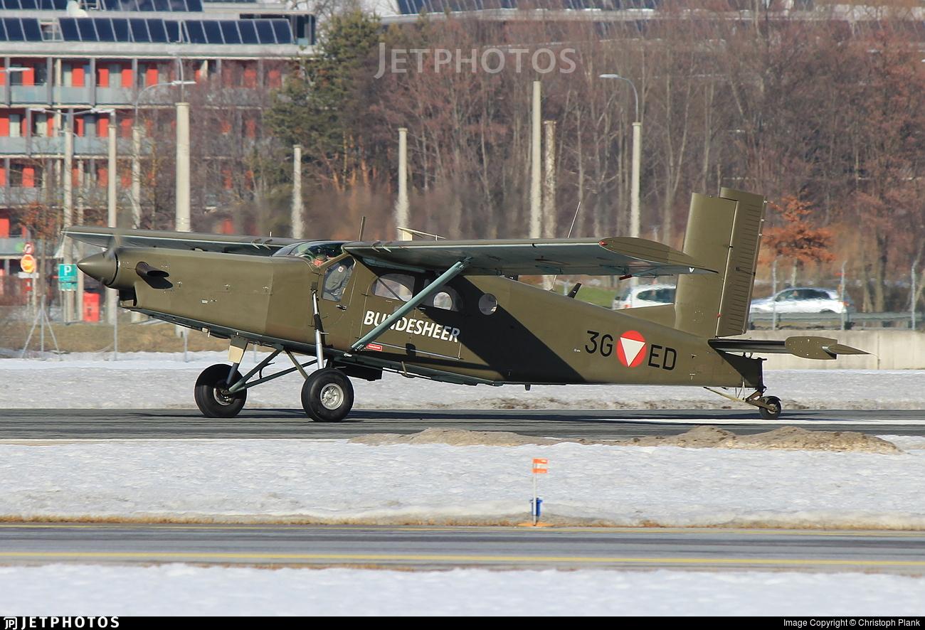 3G-ED - Pilatus PC-6/B2-H2 Turbo Porter - Austria - Air Force