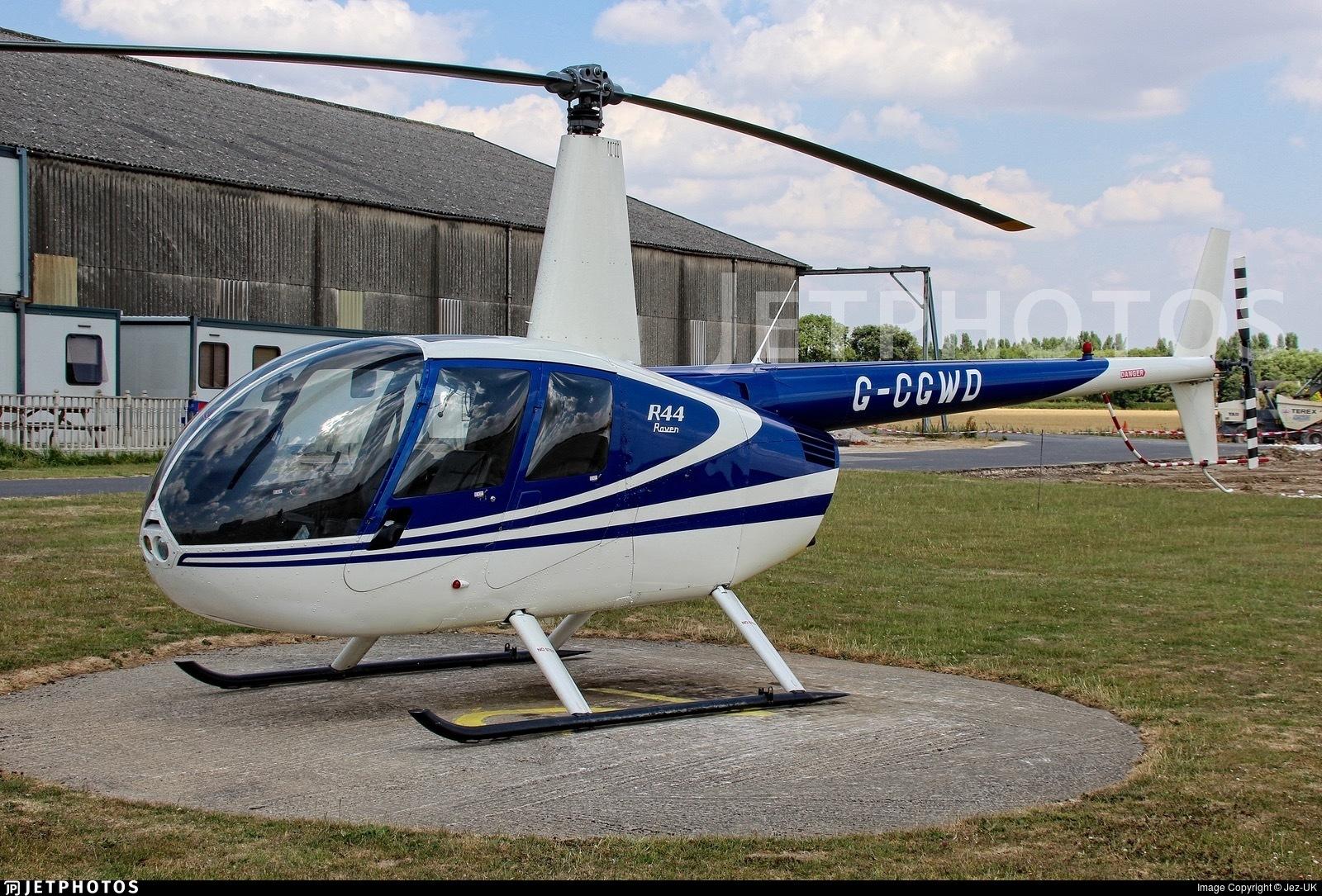 G-CGWD - Robinson R44 Raven - Hields Aviation