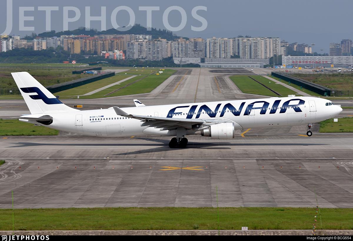 OH-LTU - Airbus A330-302 - Finnair