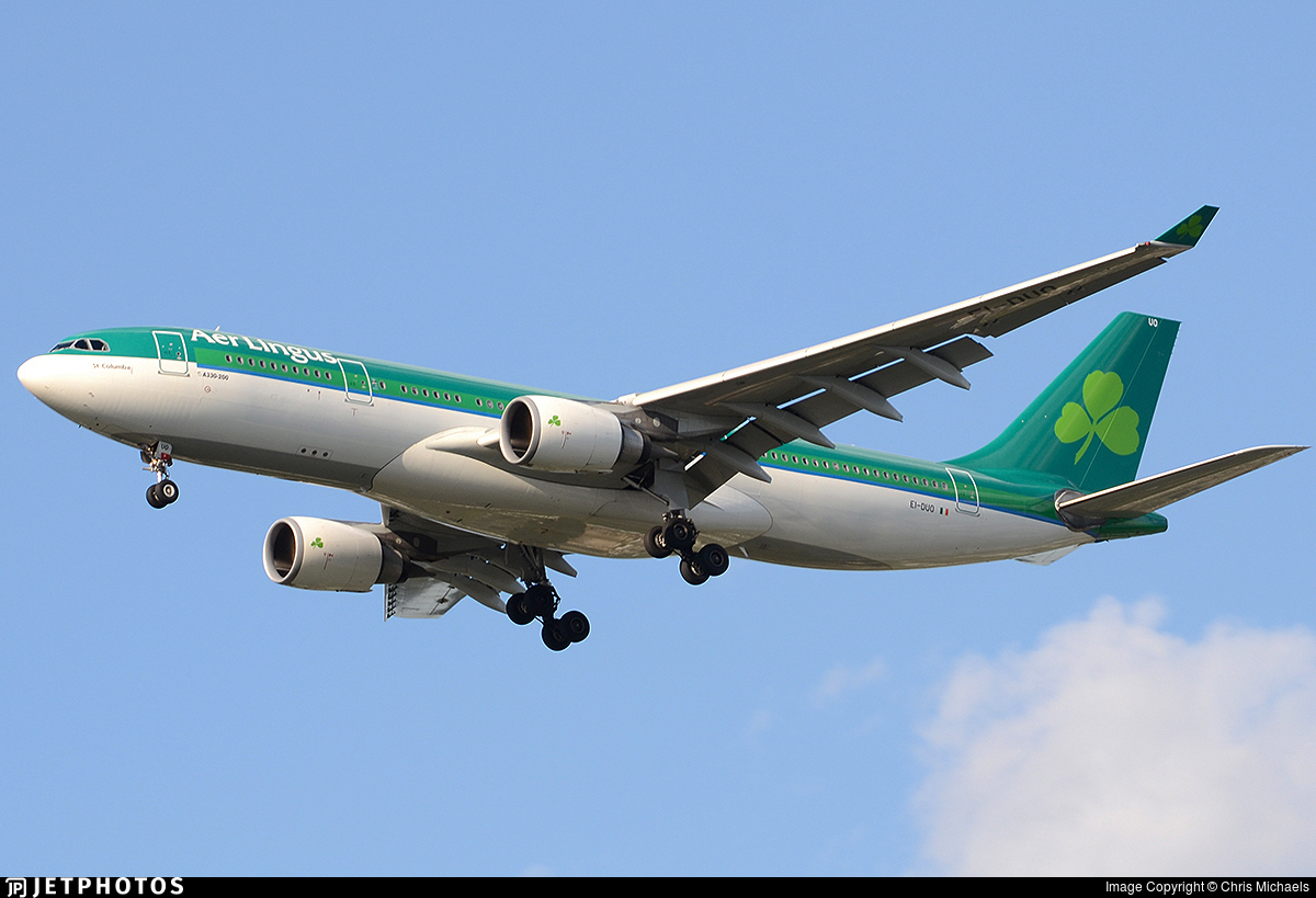 EI-DUO - Airbus A330-202 - Aer Lingus