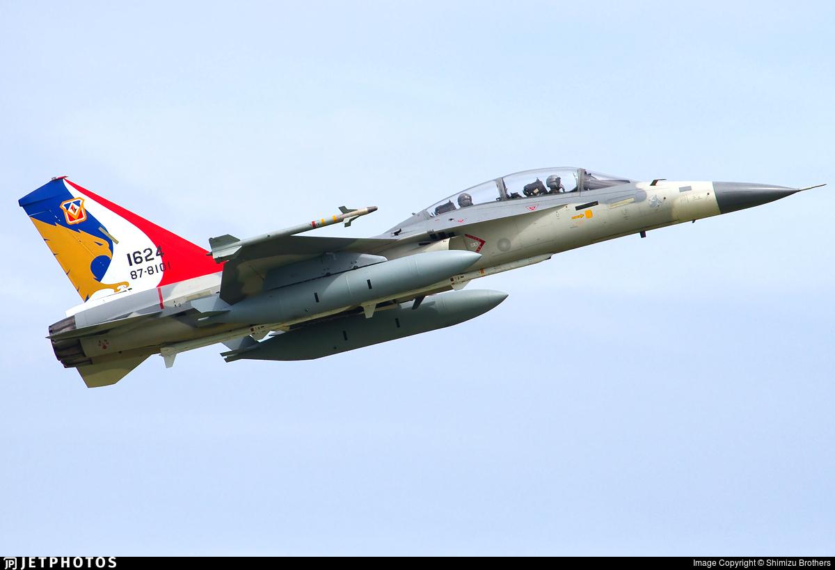 1624 | AIDC F-CK-1D Ching Kuo | Taiwan - Air Force | Shimizu