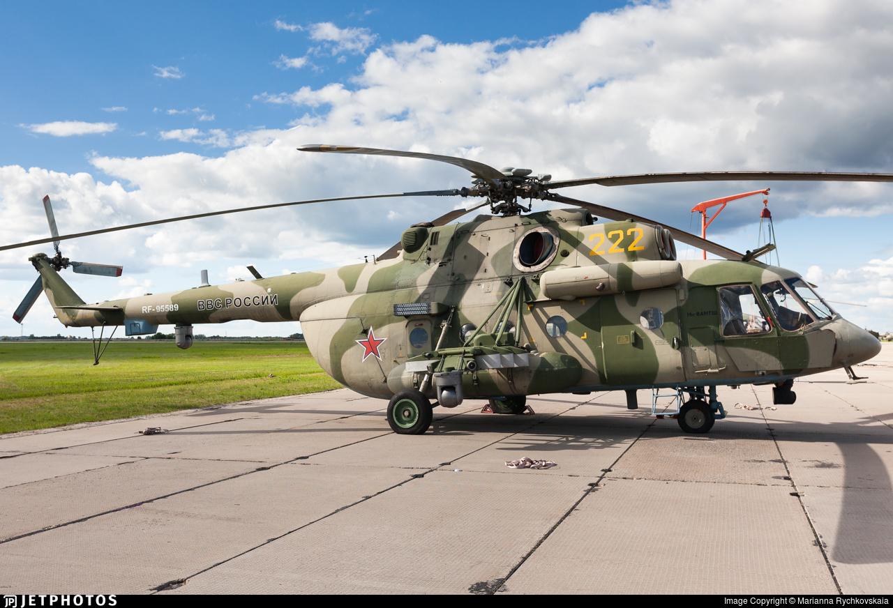 RF-95589 - Mil Mi-8AMTSh Hip - Russia - Air Force