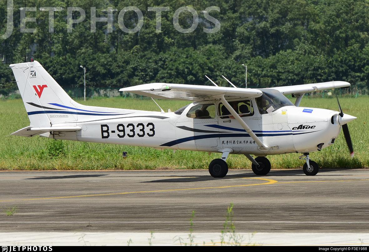 B-9333 - Cessna 172R Skyhawk - Civil Aviation Flight University of China