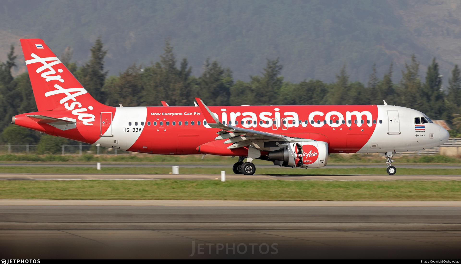 HS-BBV - Airbus A320-216 - Thai AirAsia
