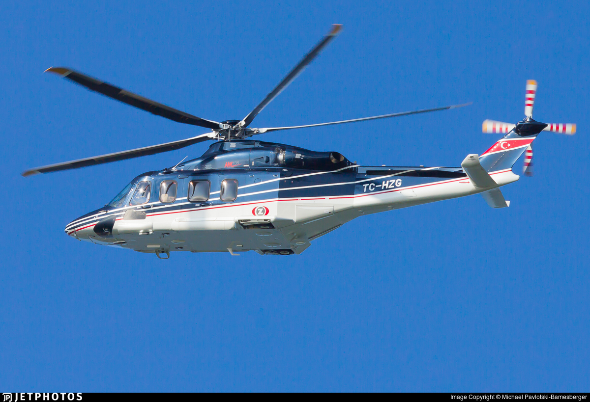 TC-HZG - Agusta-Westland AW-139 - Kaan Air