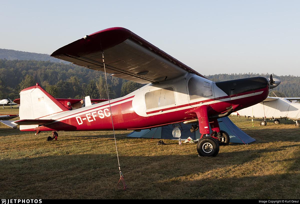 D-EFSC - Dornier Do-27A4 - Private