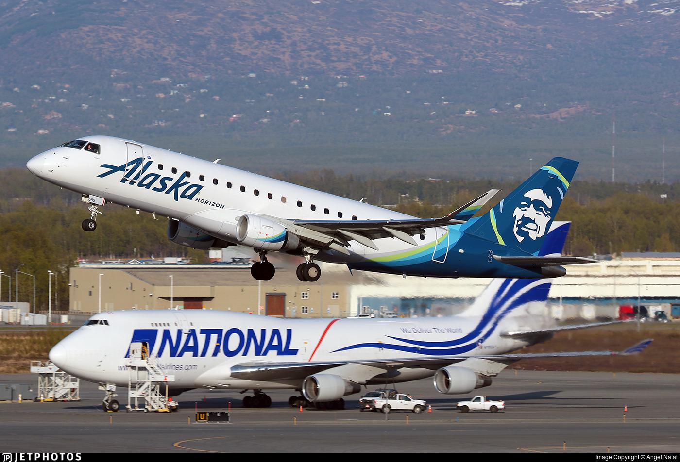 N635QX - Embraer 170-200LR - Alaska Airlines (Horizon Air)
