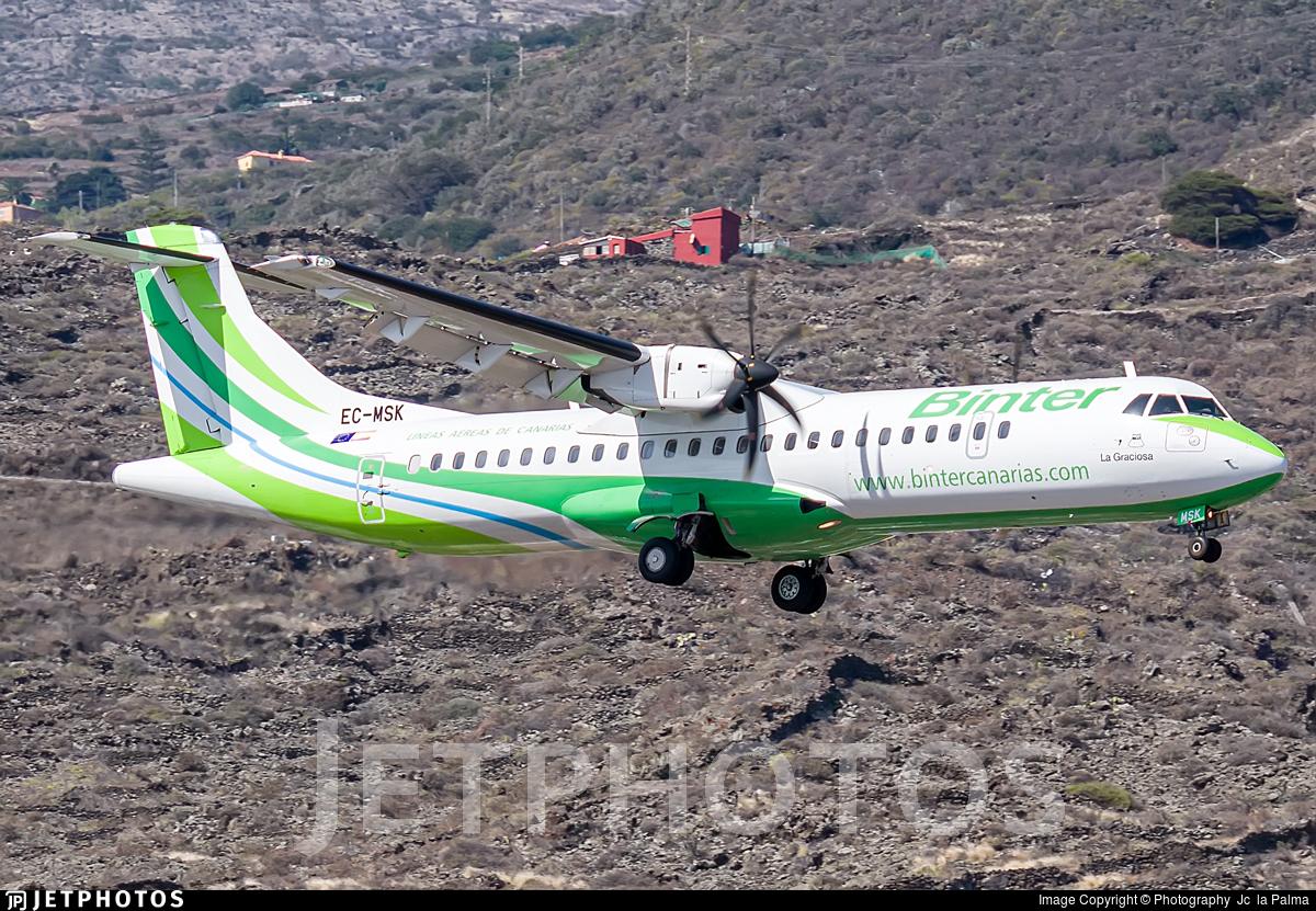 EC-MSK - ATR 72-212A(600) - Binter Canarias (Canarias Airlines)