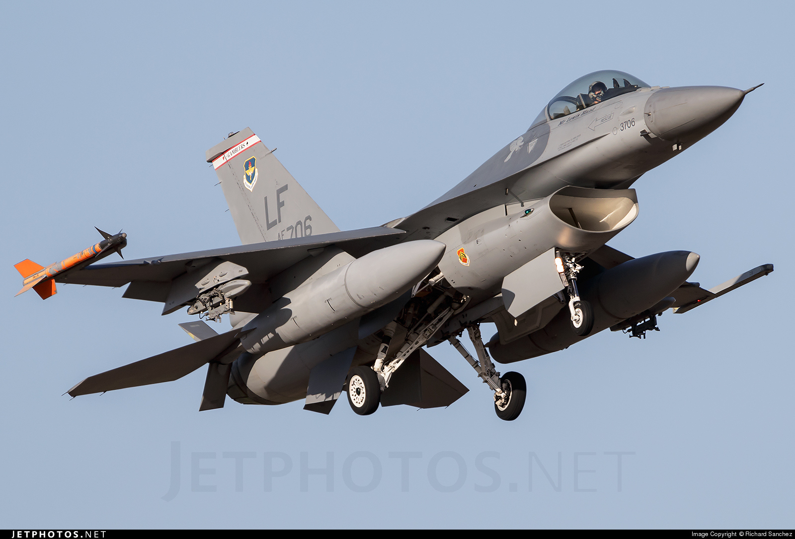 93-0706 - General Dynamics F-16A Fighting Falcon - United States - US Air Force (USAF)