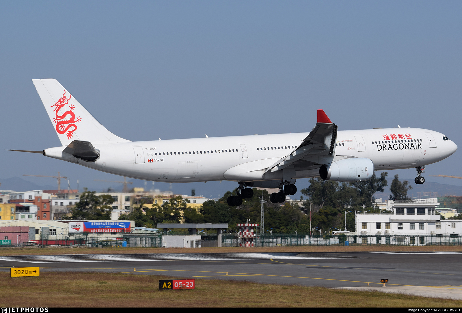 B-HLC - Airbus A330-342 - Dragonair