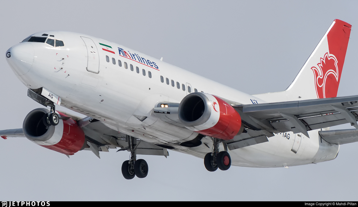 EP-TAG - Boeing 737-5L9 - ATA Airlines [Iran]