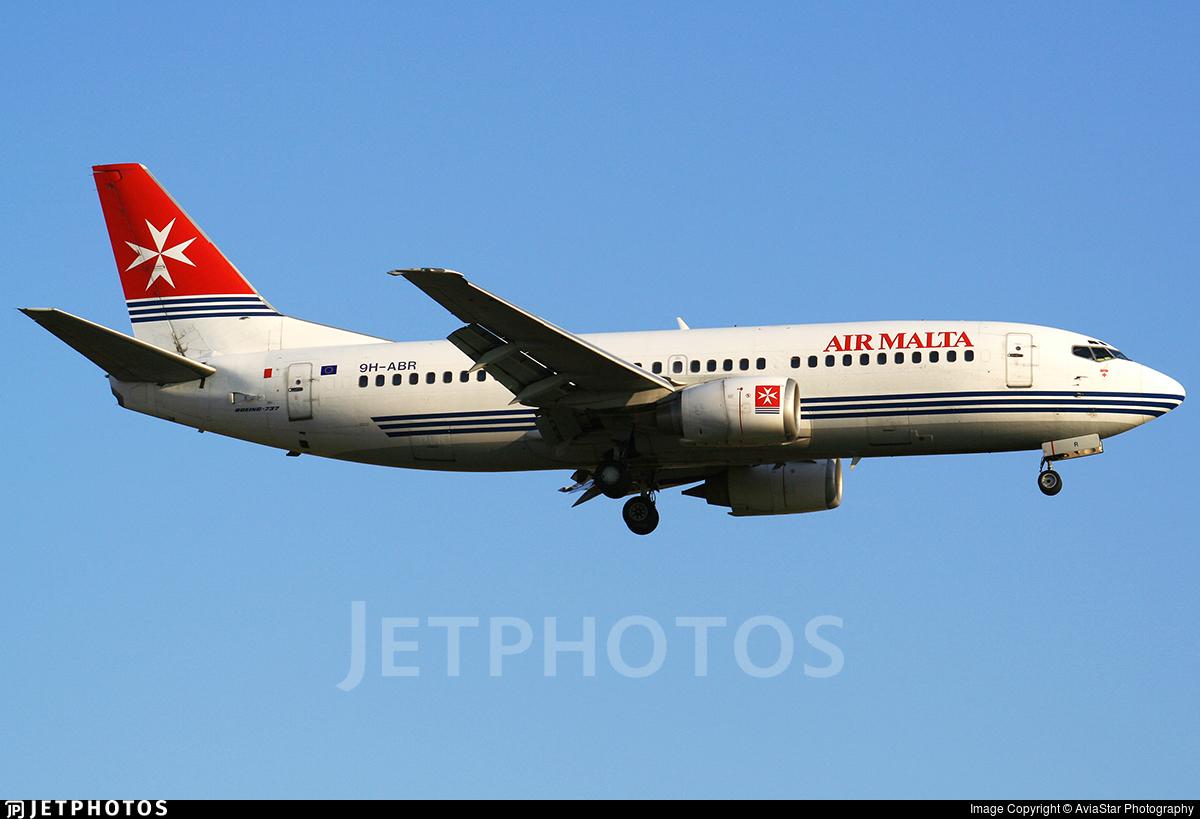 9H-ABR - Boeing 737-3Y5 - Air Malta