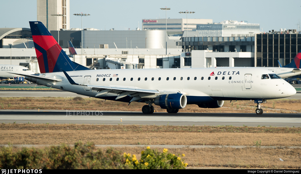 N604CZ - Embraer 170-200LR - Delta Connection (Compass Airlines)