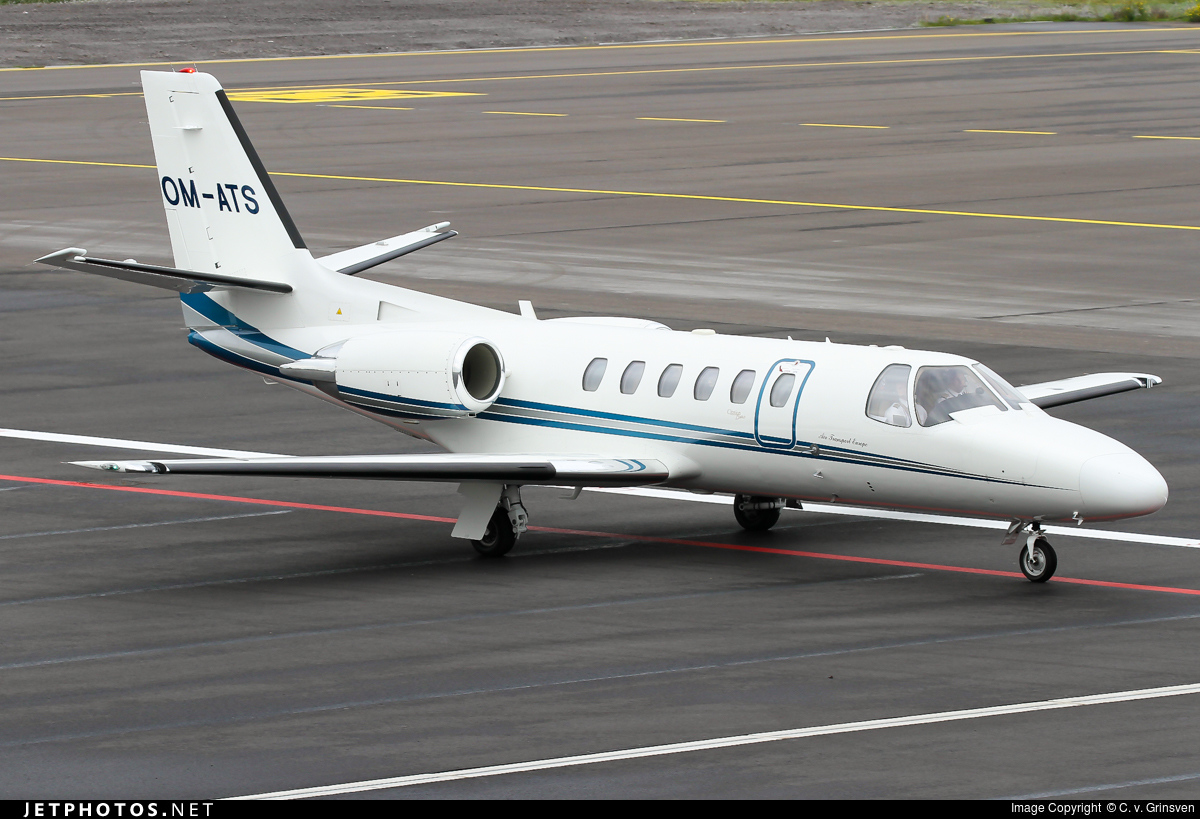 OM-ATS - Cessna 550B Citation Bravo - Air Transport Europe (ATE)