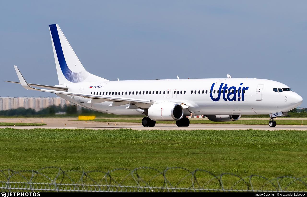 VQ-BLP - Boeing 737-8KN - UTair Aviation