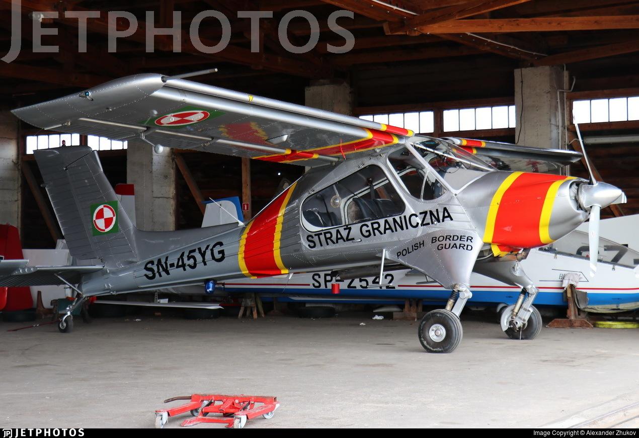 SN-45YG - PZL-Okecie 104M Wilga 2000 - Poland - Border Guard