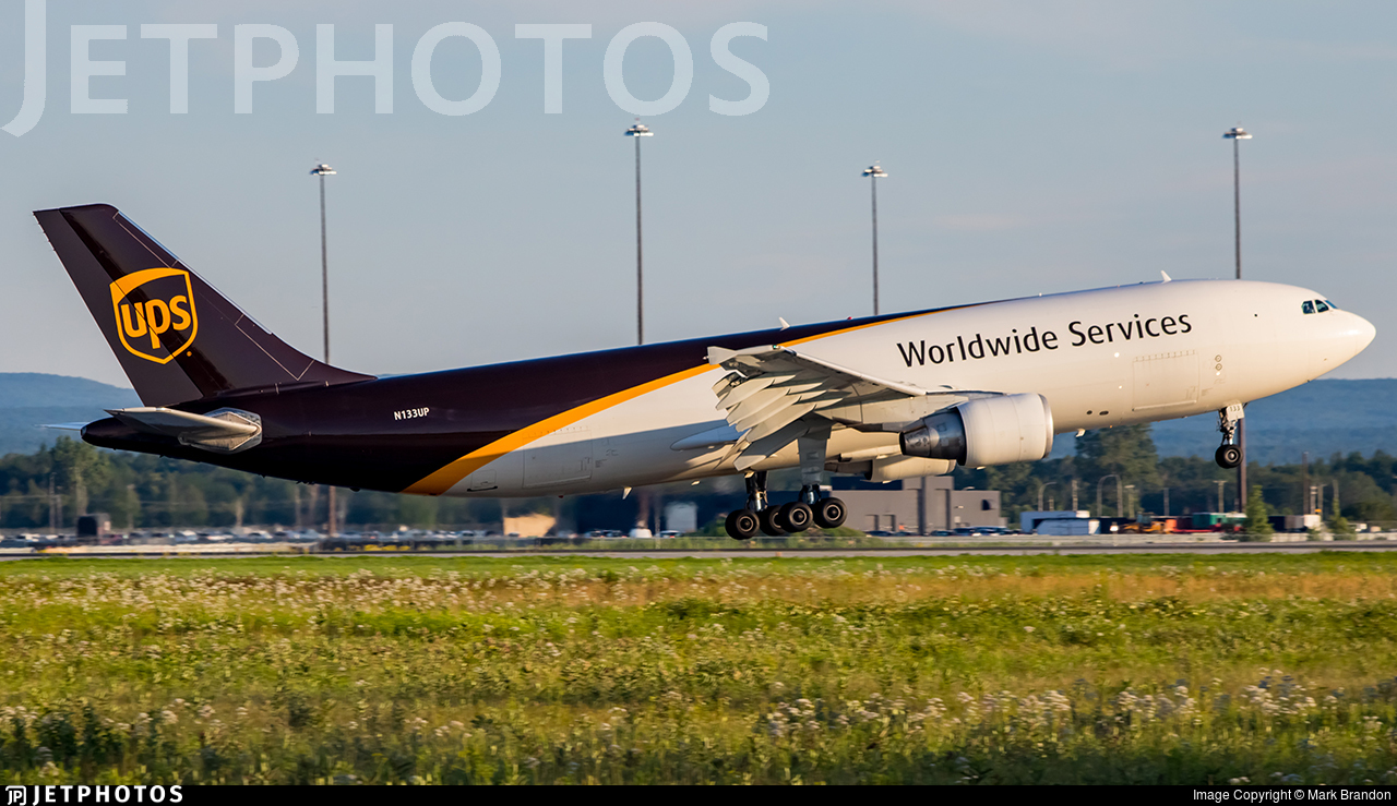 N133UP - Airbus A300F4-622R - United Parcel Service (UPS)