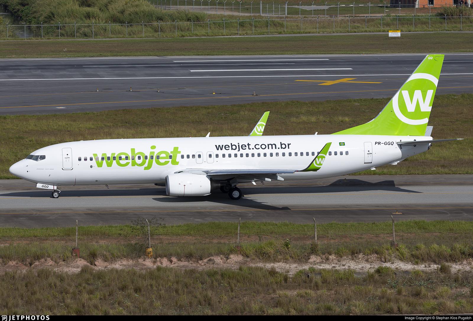 PR-GGQ - Boeing 737-8EH - WebJet Linhas Aéreas
