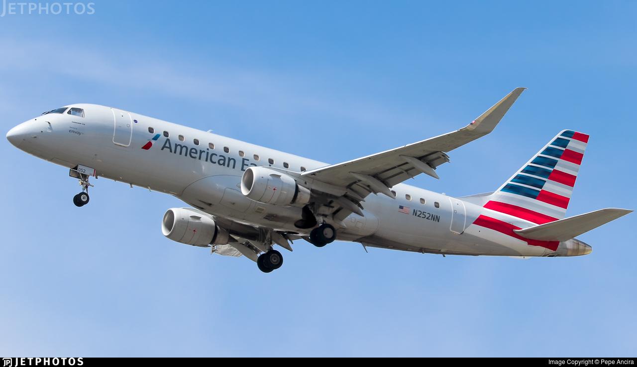 N252NN - Embraer 170-200LR - American Eagle (Envoy Air)