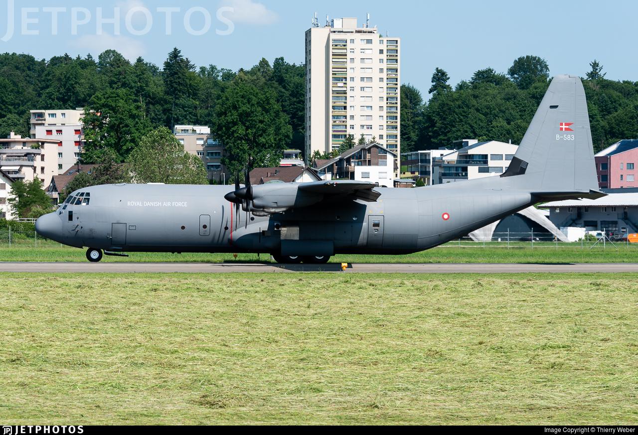 B-583 - Lockheed Martin C-130J-30 Hercules - Denmark - Air Force