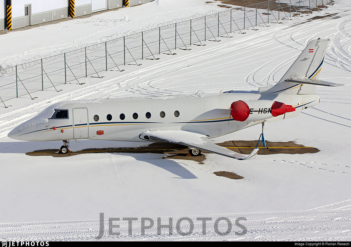 OE-HSN - Gulfstream G200 - MJet