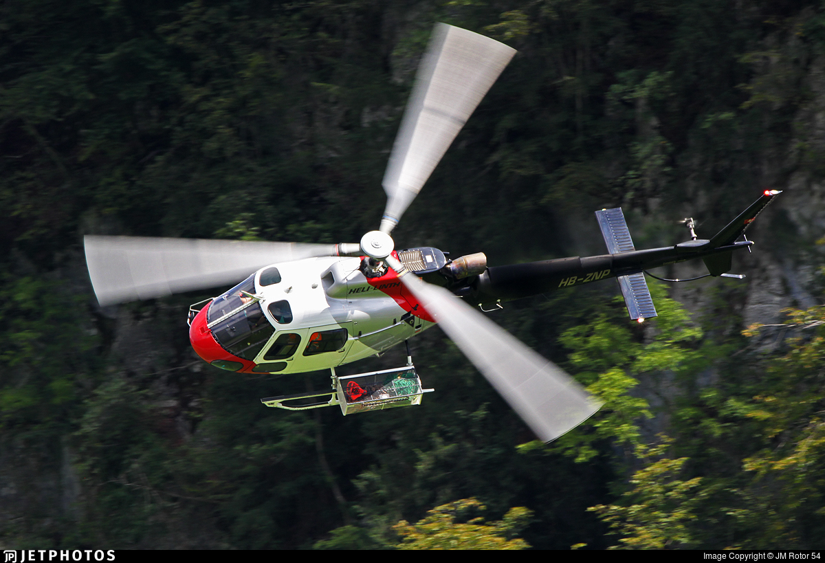 HB-ZNP - Airbus Helicopters H125 - Heli-Linth