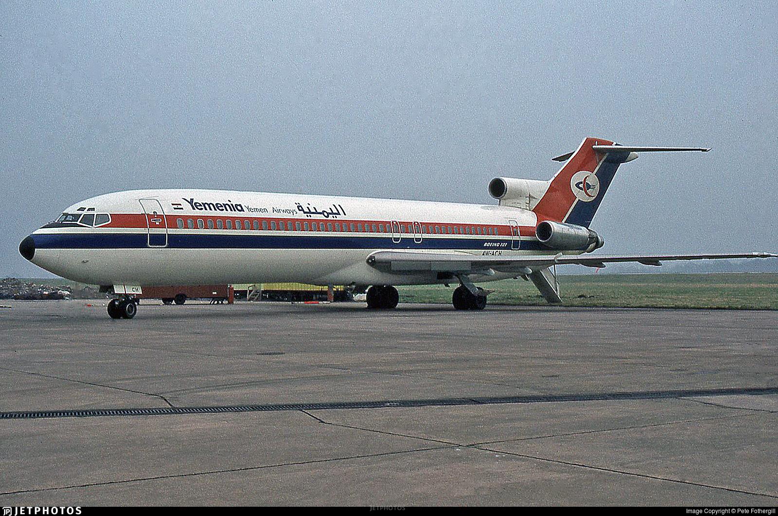 4W-ACH - Boeing 727-2N8(Adv) - Yemenia - Yemen Airways