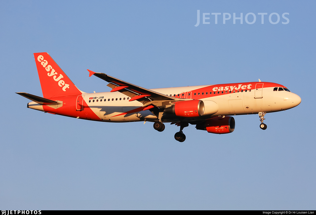 HB-JXB - Airbus A320-214 - easyJet Switzerland
