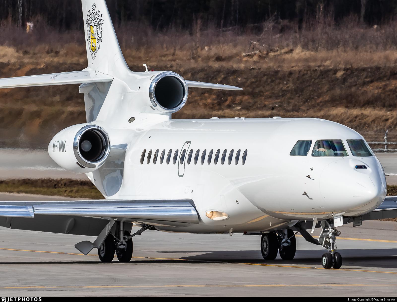 M-TINK - Dassault Falcon 8X - Private