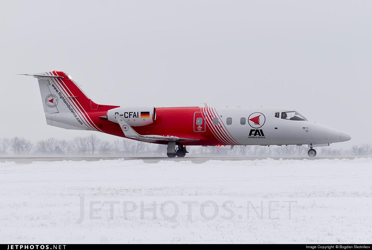 D-CFAI - Bombardier Learjet 55 - FAI Rent-a-jet