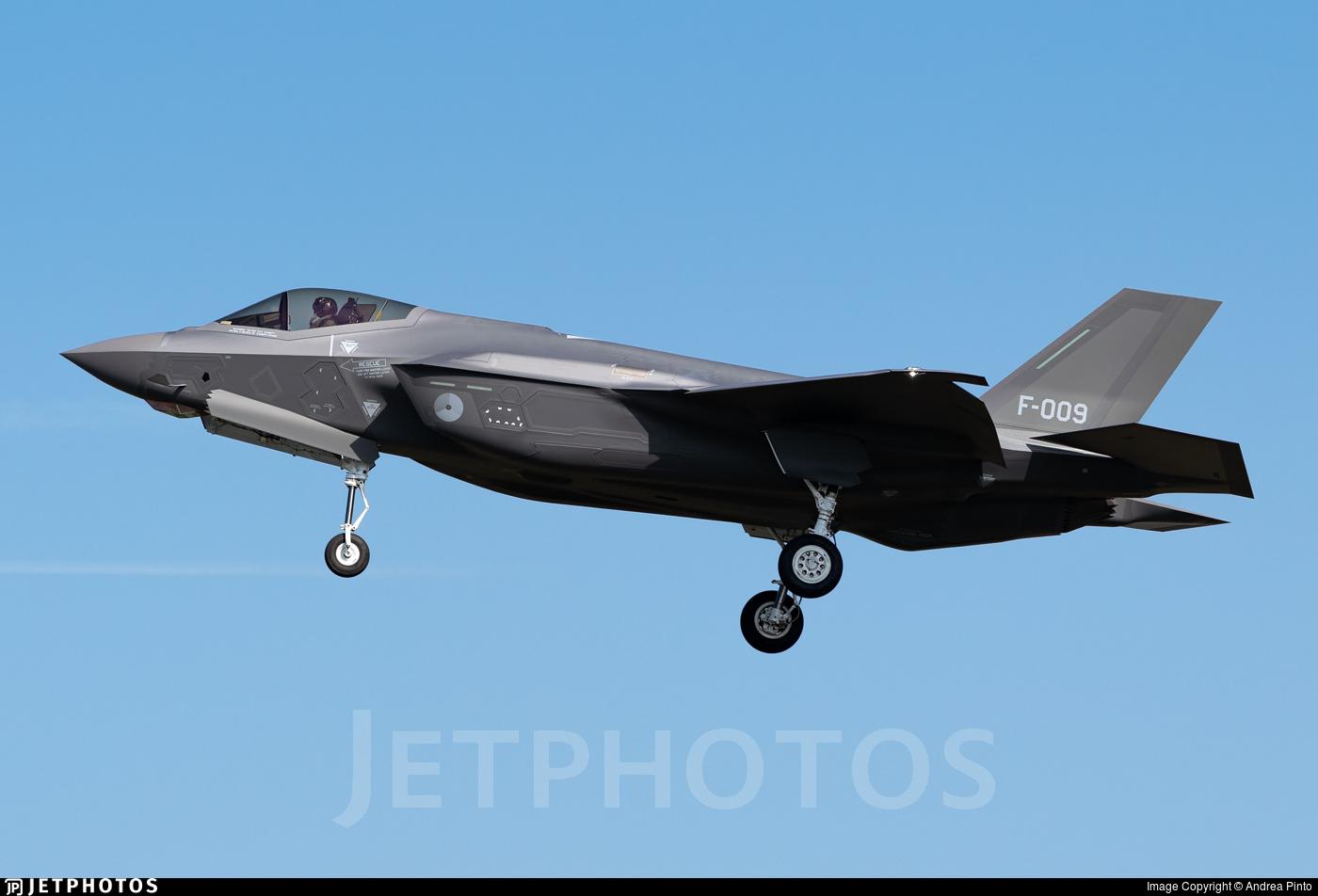 F-009 - Lockheed Martin F-35A Lightning II - Netherlands - Royal Air Force