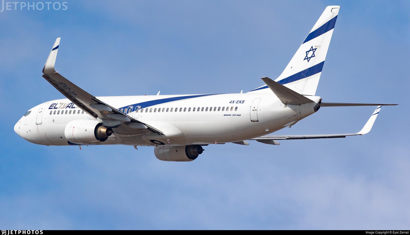 4X-EKB - Boeing 737-858 - El Al Israel Airlines