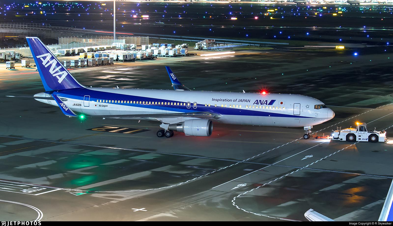 JA621A - Boeing 767-381(ER) - All Nippon Airways (Air Japan)