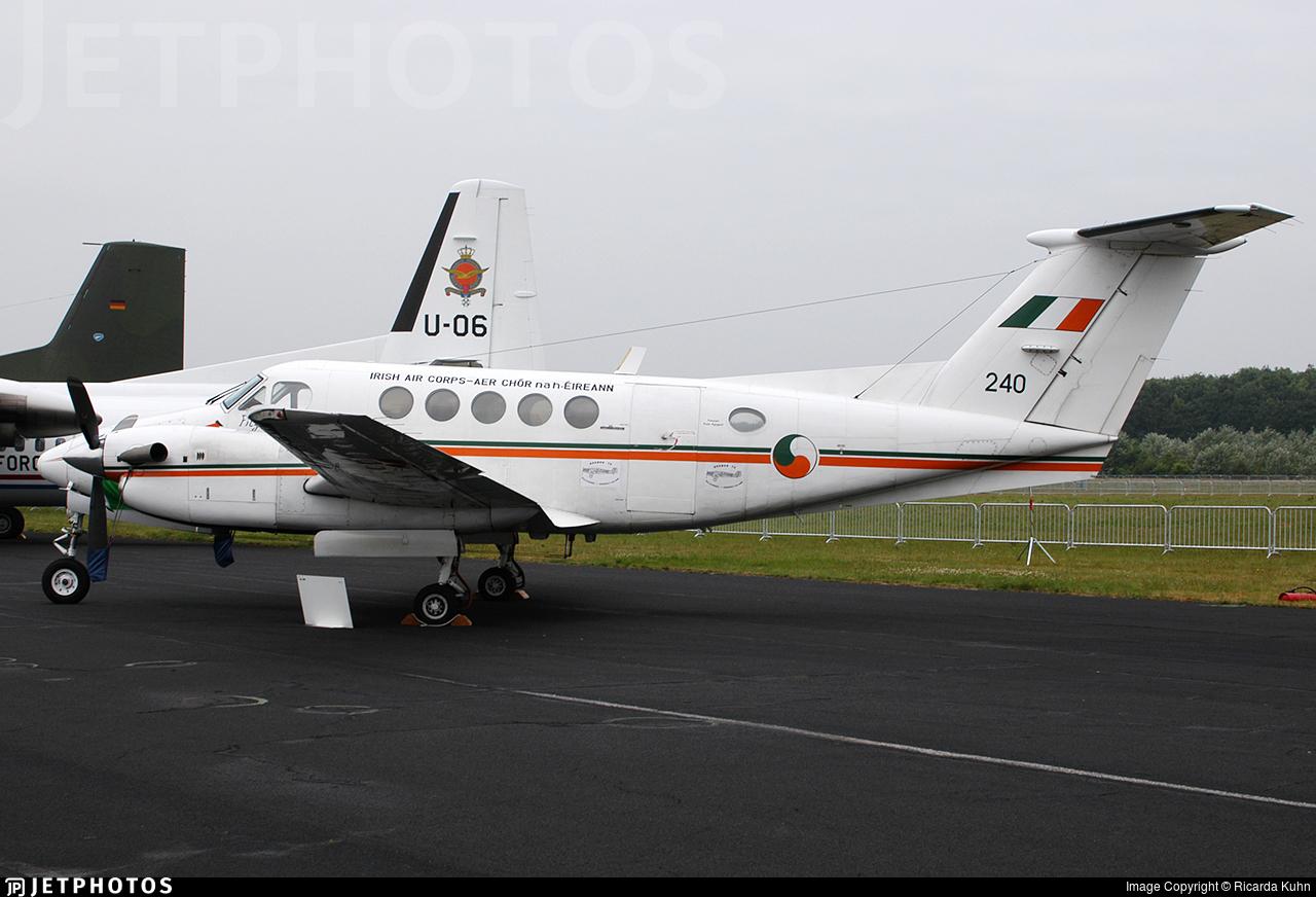 240 - Beechcraft 200 Super King Air - Ireland - Air Corps