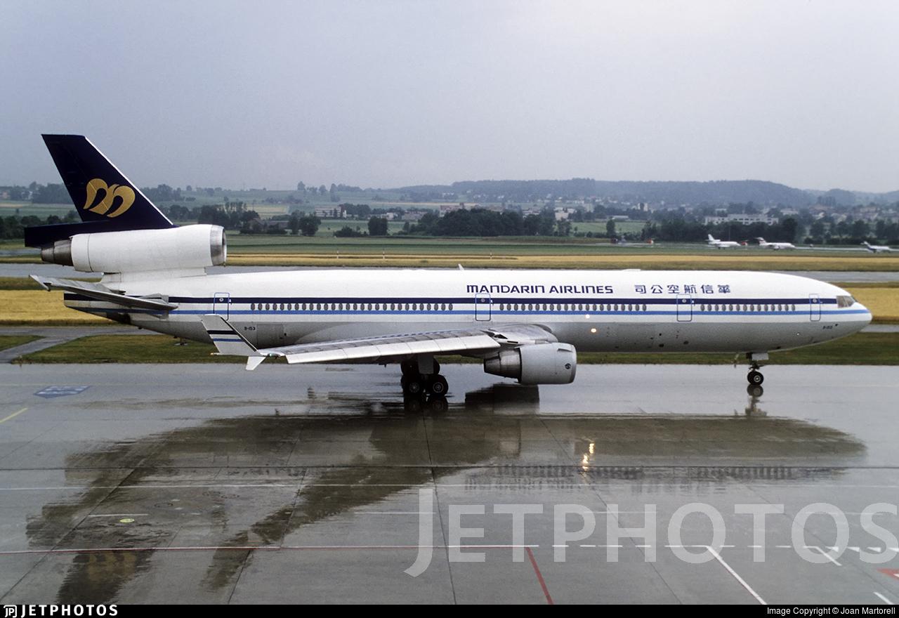 B-153 - McDonnell Douglas MD-11 - Mandarin Airlines