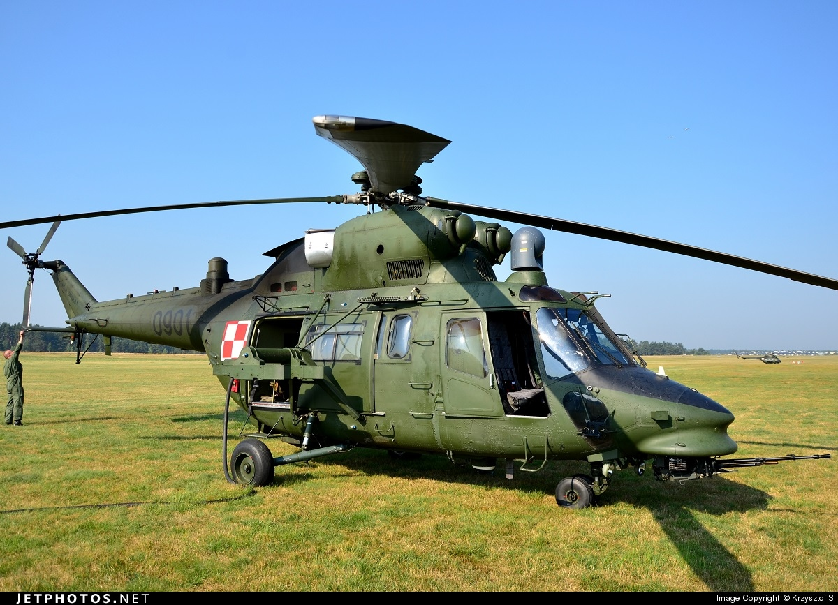 0901 - PZL-Swidnik W3 Sokol - Poland - Army