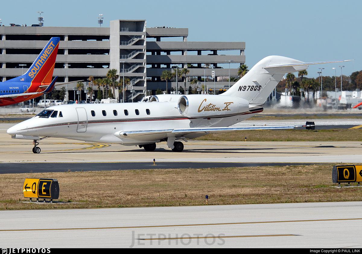 N978QS - Cessna 750 Citation X - NetJets Aviation