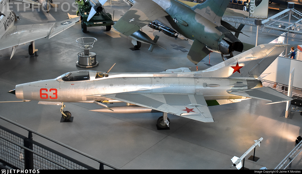 63 - Mikoyan-Gurevich MiG-21F-13 Fishbed C - Soviet Union - Air Force