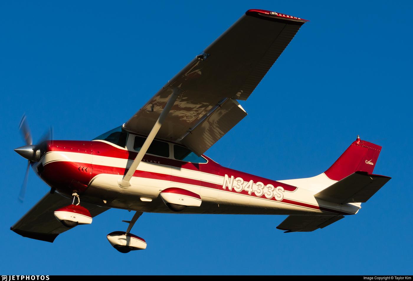 N3433S - Cessna 182G Skylane - Private