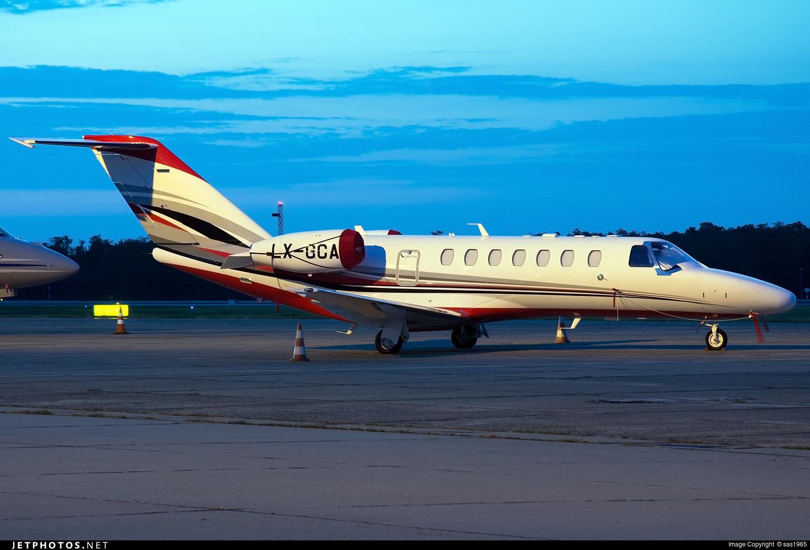 LX-GCA - Cessna 525B CitationJet 3+ - Private