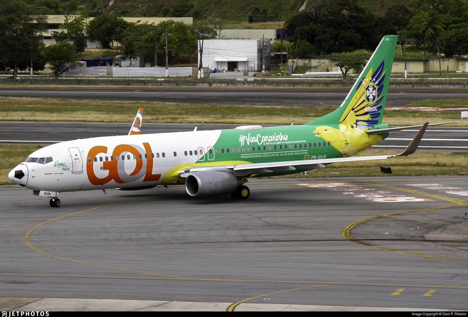 PR-GUK - Boeing 737-8EH - GOL Linhas Aéreas