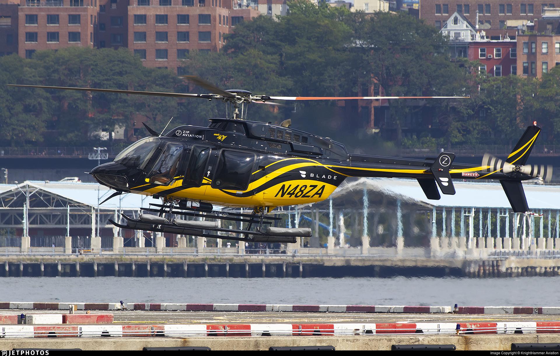 N48ZA - Bell 407 - Zip